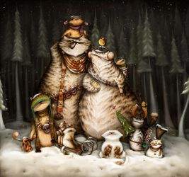 Christmas time by Anuk