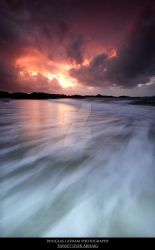 Sunset Over Arisaig by DL-Photography
