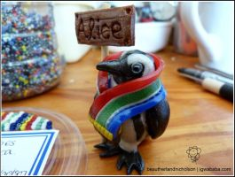 Clive the African Penguin by thiefoftime