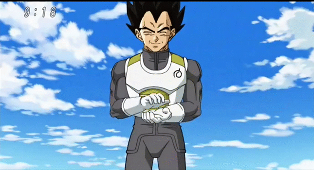 vegeta by luroper