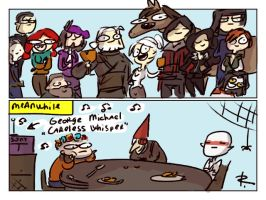 The Witcher 3, doodles 249 by Ayej