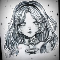 Traditional art: for JuliaxRyuga by Inntary
