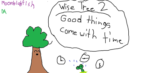 Wise Tree 2 by MoonBlobfish