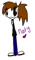 Nat from homestar runner by Nat-Skellington