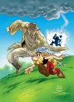 Monk - Asterix by vincent-fourneuf