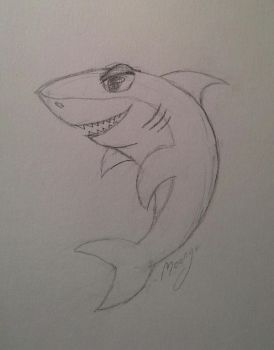 shark by lunejaune145