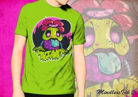 Mutant Muffins - T Shirt by MindlessInk