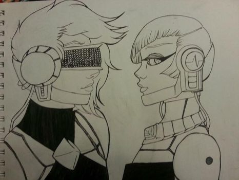 Daft Girls by cactusthis