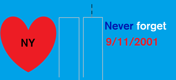 Never Forget 9/11/2001 by SubwayArtist47