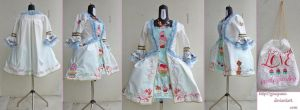 'Cupcake' Robe a la francaise with a twist XD by giusynuno