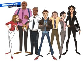 Brooklyn 99 by S-P-N