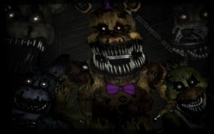 Five nights at Freddy's 4 wallpaper by xSass-Queen-Alleyx