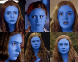 The many blueberry faces of Amy Pond by DJYoungGun2