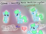 Hearth's Warming Con - Glace  REF sheet by avui
