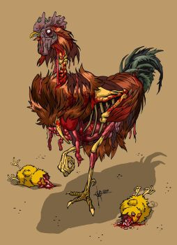 zombie cock by nedesem