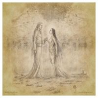 Thingol and Melian by aautio