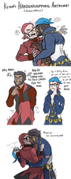 Pokemon ORAS: ARCHIE/MAXIE ART DUMP by ky-nim