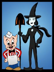 Piggly Witchly by Lordwormm