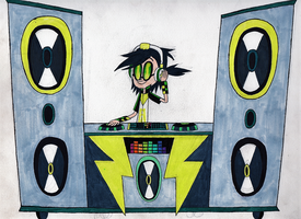 Jett's DJ Booth by Brianna-the-Toon