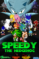 Speedy the Hedgehog Movie Poster by jmkrebs30