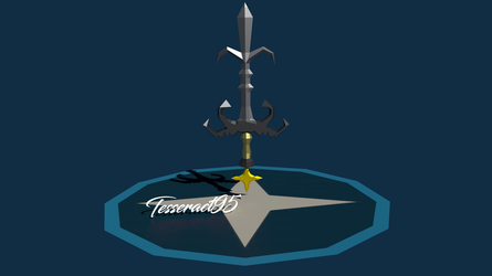 Runescape - 3D Saradomin God Sword  |Old Style| by Tesseract95