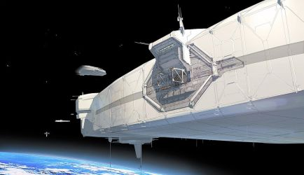 FUSE Space Station Docking Port by MeckanicalMind