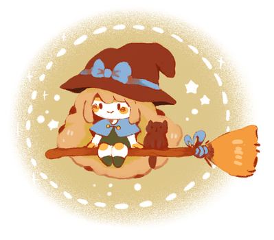 Lil Witch by Teatime-Rabbit