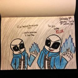 Sans(Undertale Genocide Version) by Riyana2