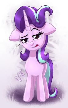 MLP FIM - Starlight Glimmer So Done With It by Joakaha