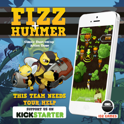 Fizz + Hummer, our first game release on iOS! by id2games