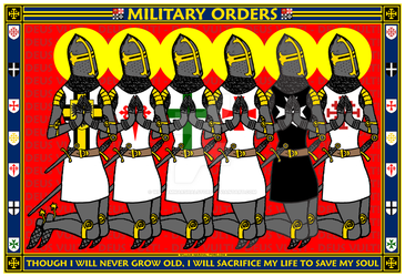 Military Orders Praying - William Marshal Store.co by williammarshalstore