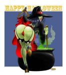 Witch's Surprise - Halloween 2012 by WBreaux