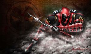 Deadpool - Colored Final by dnewlenox