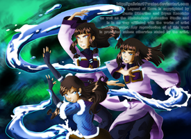 The Waterbending Cousins by Galistar07water