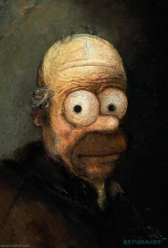 Rembrandt's Homer by limpfish