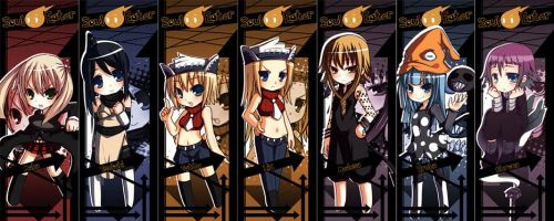 Soul Eater - Bookmark Set by MightyLeafy