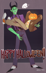 Happy Halloween (Bounty) by NEOmi-triX