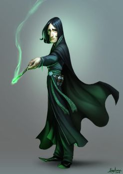 Severus Snape by Sommum