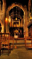HDR Cathedral Newcastle by N1ghtf4ll3r