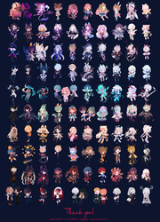 100 Nugget commissions! by petitster