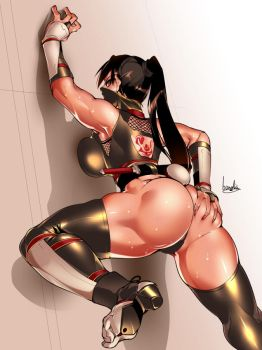 Kunoichi ass by bowalia