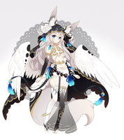 [AUCTION] Fae Fox Adoptable ::CLOSED:: by Oma-Chi