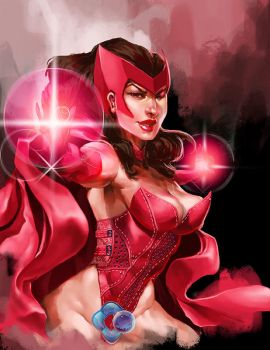 Avengers: The Scarlet Witch by dr-conz