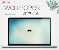 Wallpaper Le Moustache by a-Sonrix