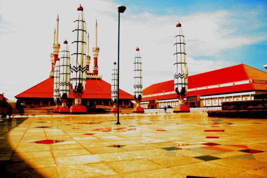 This is agung mosque by risqitripalupi