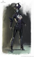 Mortal Kombat X - Dark Empress Kitana by Eleeron