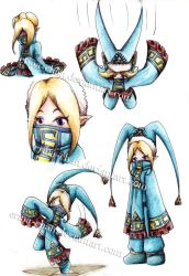 Triforce's priest - DOODLES by Erina-chan