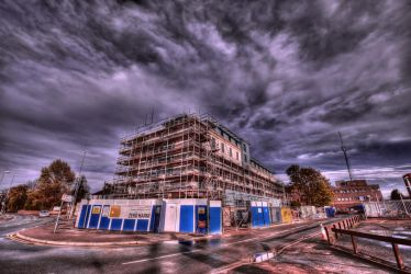 Urban Storm HDR by nat1874