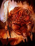 Fire Colossus by funkychinaman