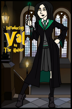 Meet Val: The Holder of Harry Potter by Luck-Lupin